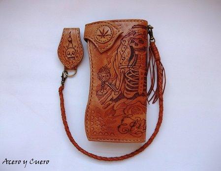 79a5732c0 Billeteras artesanales de piel y cuero