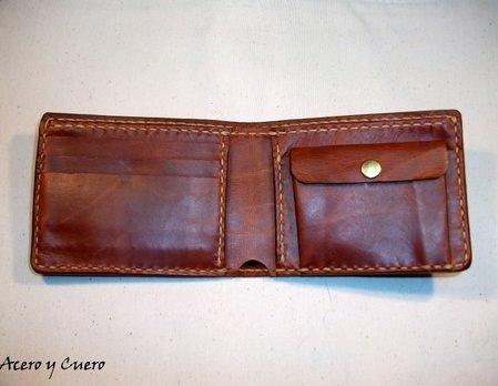 51a4a43ff Billeteras artesanales de piel y cuero
