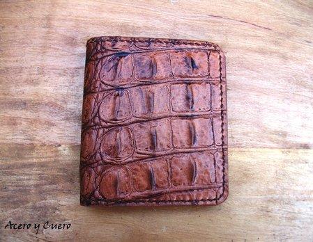 24cf06d7a Billeteras artesanales de piel y cuero